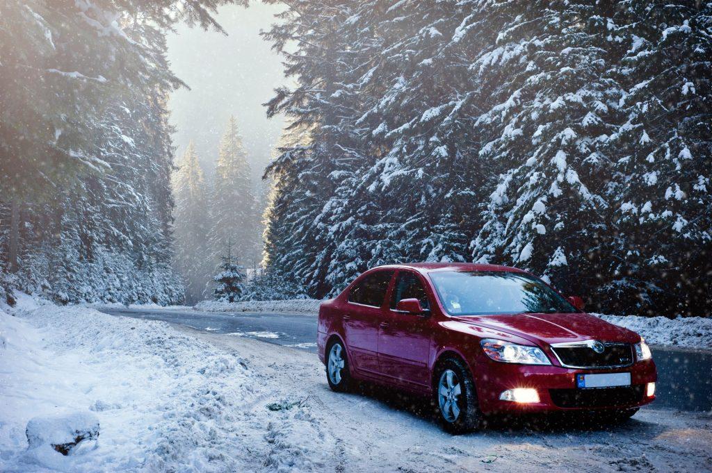 averías de coche en invierno