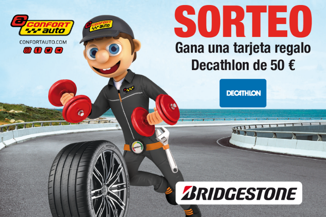 Sorteo Tarjeta Decathlon 50 euros mayo 2021