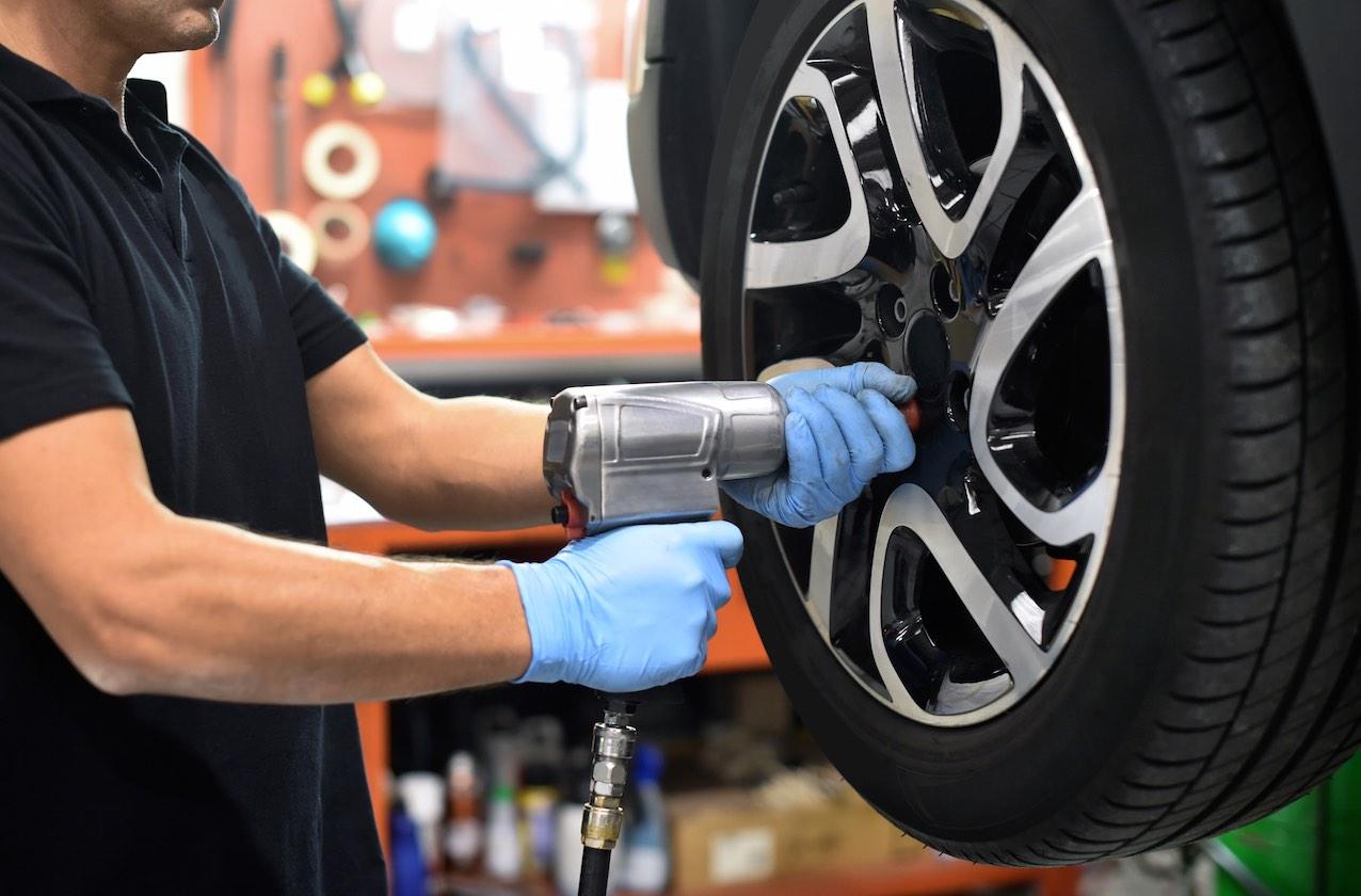 Cambio de neumáticos en Confortauto