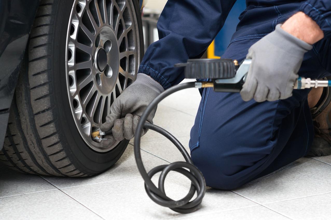Atención a tus en neumáticos en otoño